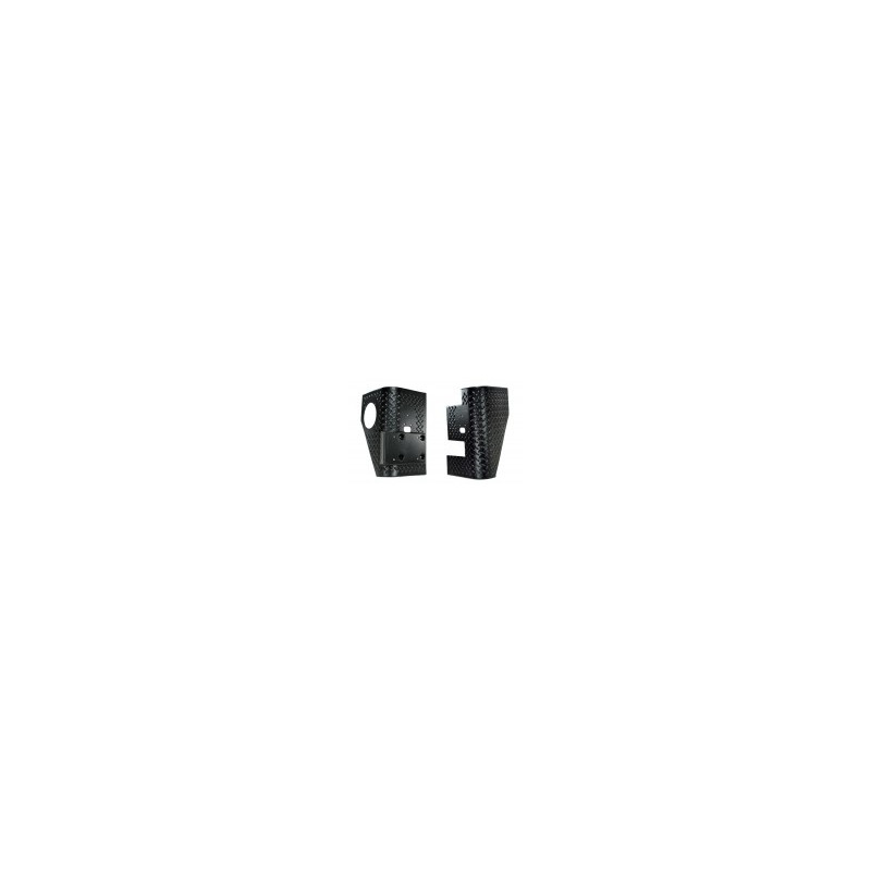 Protection angle de caisse arriere noire (2) 1997-06 11650.01