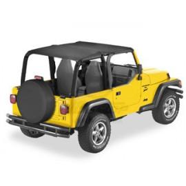 "Capote bikini ""safari long"" Jeep Wrangler YJ 52529-15"