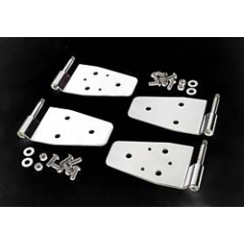 kit chaniere de 1/2 portes INOX CJ-YJ