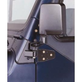 Support de repositionnement noir rétroviseur Jeep Wrangler TJ 1997-2002