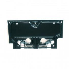 Support plaque immatriculation latérale pivotant AR. Jeep Wrangler YJ 1987-96