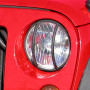 grille protection phare (2) noire JK