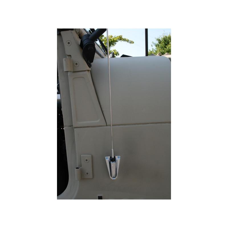 kit antenne complète chromée CJ & YJ