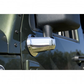 enjoliveur de support de rétroviseur chrome JEEP JK