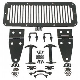 accessoire capot noir jeep CJ & YJ