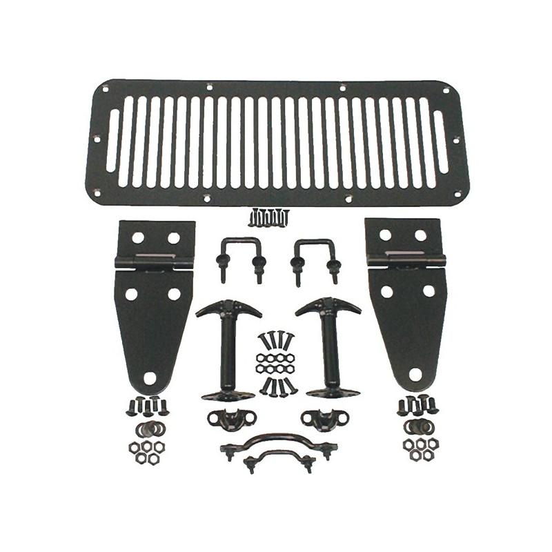 accessoire capot noir jeep cj7 wrangler yj 1978 96 kulture jeep. Black Bedroom Furniture Sets. Home Design Ideas