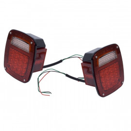 feu arriere US a led JEEP CJ YJ TJ (2)