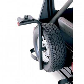 Porte vélos sur roue de secours Jeep CJ CJ7 & Wrangler YJ TJ JK