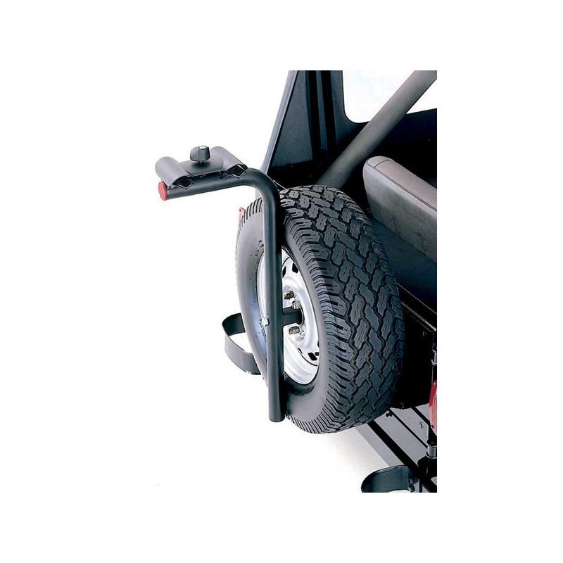 porte vélos universel sur roue de secours arrière