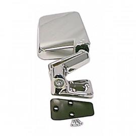 retroviseur exterieur droit chrome Jeep Wrangler YJ & TJ 1987-02
