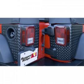 Protection angle caisse arrière JEEP WRANGLER JK 4 portes
