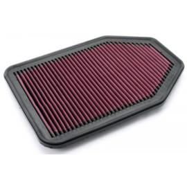 Filtre à air performance lavable JEEP Wrangler JK V6 3.8l & 3.6L