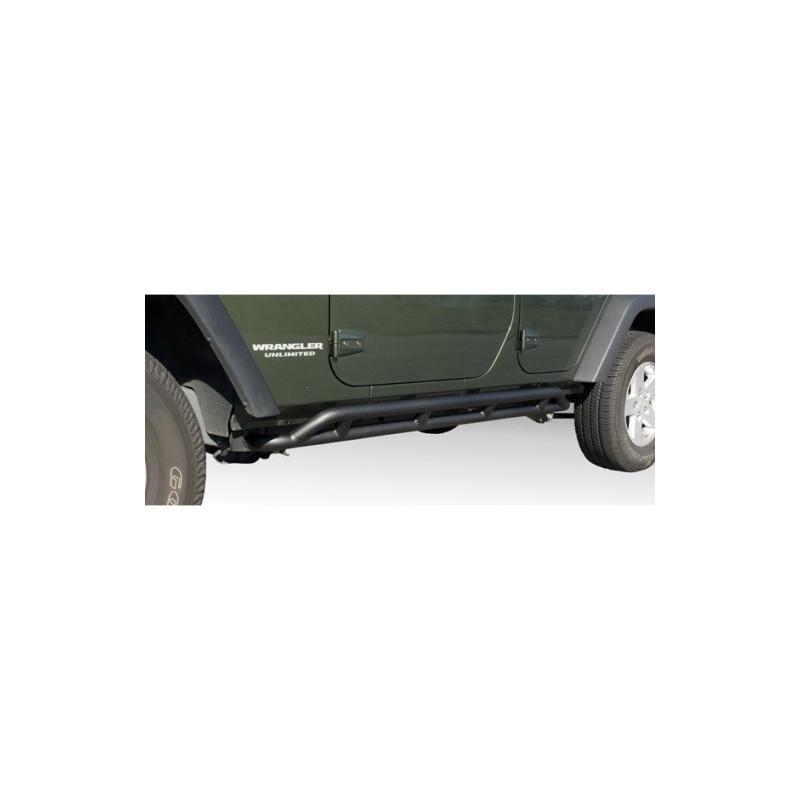 Protection latérale noire (x2) RRC JEEP Wrangler JK 4 portes