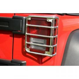 Grille de protection de feu arrière INOX Jeep Wrangler JK