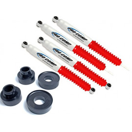"Kit suspension +2"" 50mm cales & avec amortisseurs PROCOMP Jeep Grand Cherokee WJ 1999-04"