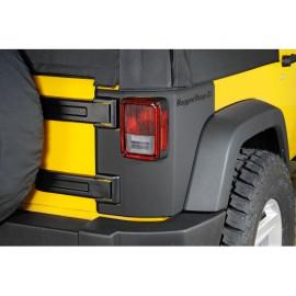 Protection angle caisse noir mat JEEP Wrangler JK 2 portes