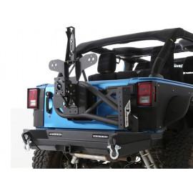 SB Pare choc arrière + support roue JEEP Wrangler JK