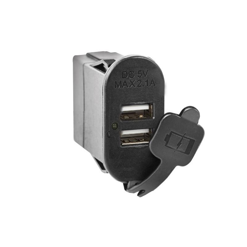 interrupteur double port USB