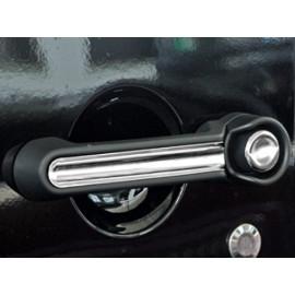 Enjoliveur poignée porte intérieur chromée (4) JEEP Wrangler JK 4 portes