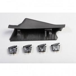 kit support gauche + 4 interrupteurs JEEP Wrangler JK 2011-16