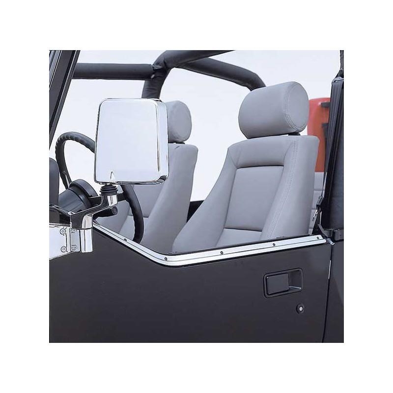 glissiere inox sur demi porte 2 jeep wrangler yj kulture jeep. Black Bedroom Furniture Sets. Home Design Ideas