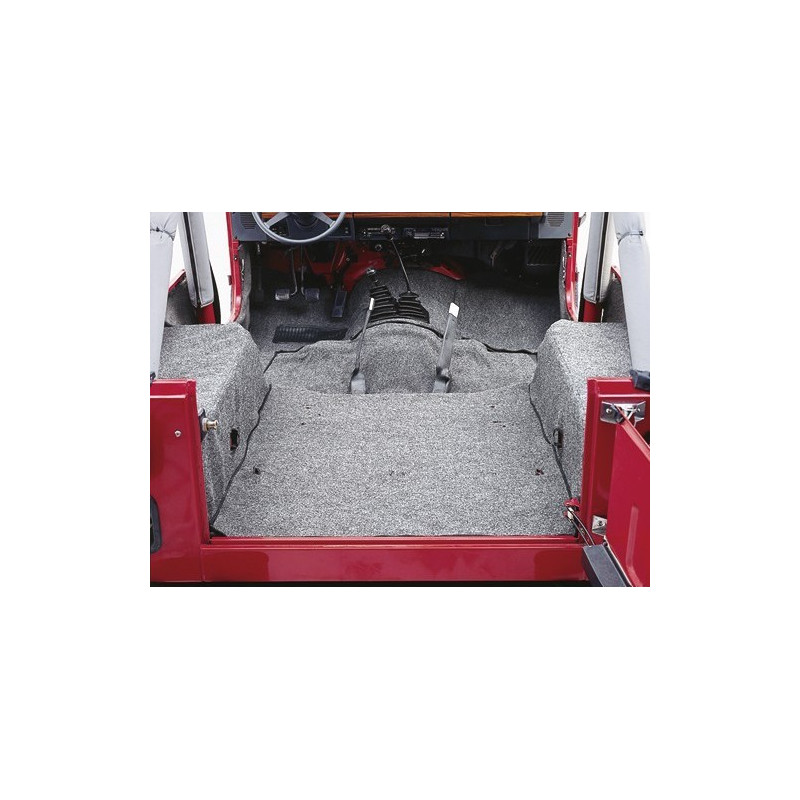 Moquette int rieur compl te jeep cj cj5 cj7 wrangler yj for Interieur jeep