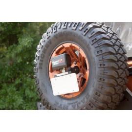 support feu arriere sur roue JEEP CJ CJ5 CJ7 & Wrangler
