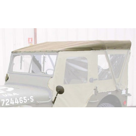 capote de capotage hiver JEEP Willys MB Ford GPW Hotchkiss M201