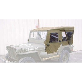 capotage hiver complet JEEP Willys MB Ford GPW Hotchkiss M201