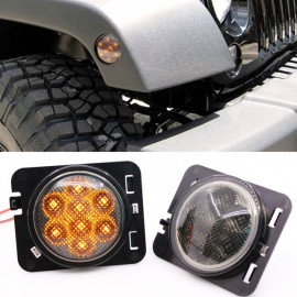 repetiteur avant LED (2)  JEEP Wrangler JK