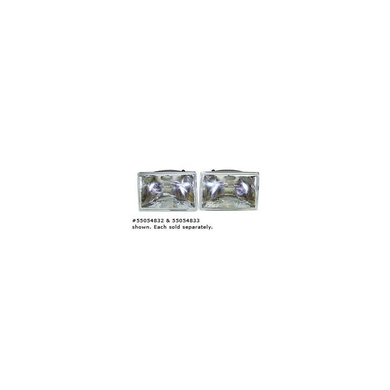 optique de phare gauche electrique 1993-98