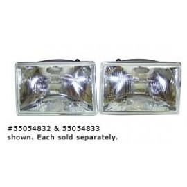 optique de phare droit electrique 1993-98