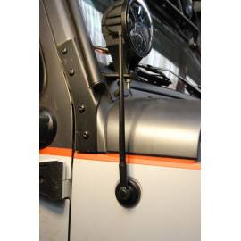 Antenne brin court flexible Wrangler 2007 et +