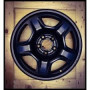 Jante tole noir jeep origine Renegade-cherokee 2014 &+ en 16 pouces