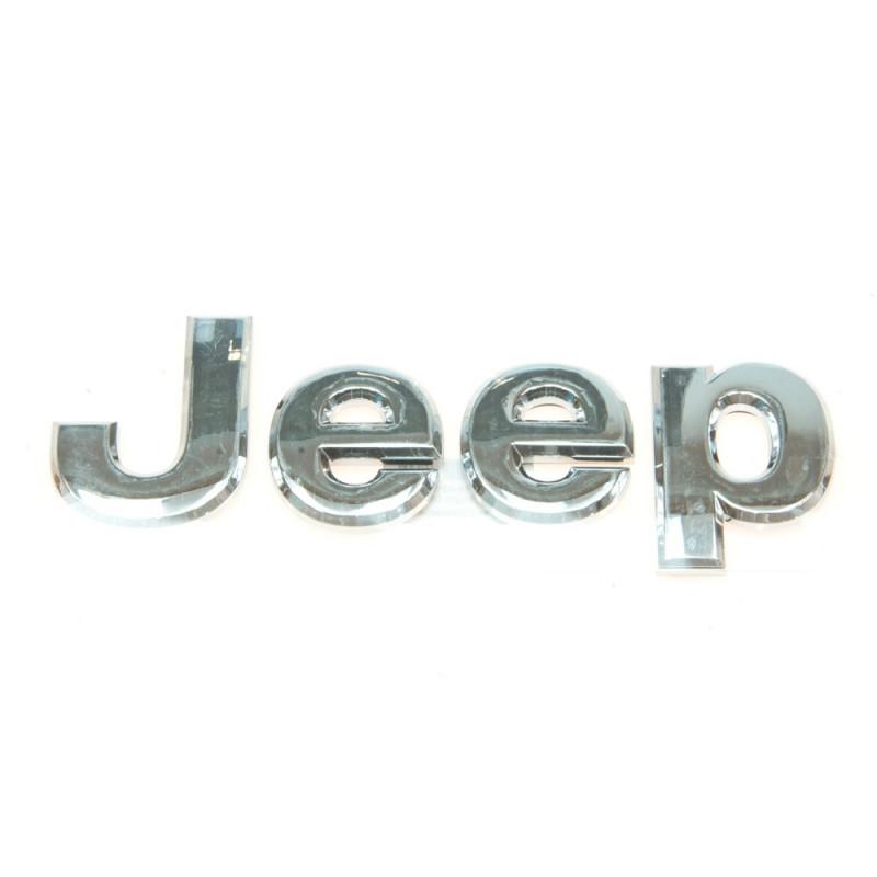 Logo emblème JEEP chromé