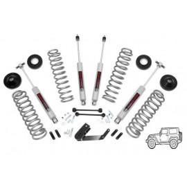 "Kit suspension +2.5"" 65mm avec amortisseurs évolutif 3.25""(avec cales) Jeep Wrangler JK 2007+"