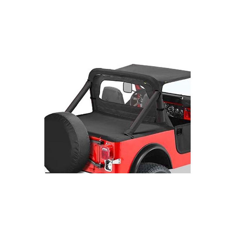 Duster cover pour capote Supertop Jeep CJ7 1980-86 Noir