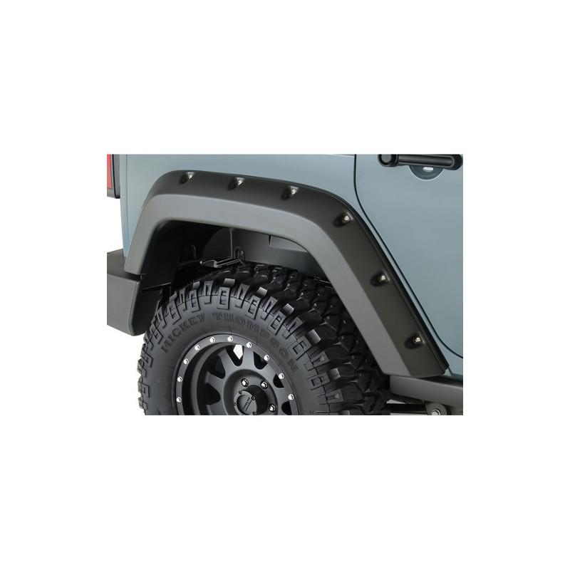 BUSHWACKER Extensions ailes AR Jeep Wrangler JK