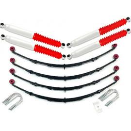 Kit de suspension +4 - 100mm avec amortisseurs Pro Runner
