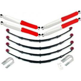 Kit de suspension +2,5 - 65mm avec amortisseurs Pro Runner