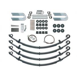 Kit Suspension Standard system +2.5 - 65mm avec amortisseurs RXT