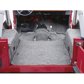 Tapis gris intérieur Jeep CJ 76-86