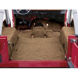 Tapis brun d'intérieur Jeep CJ 76-86