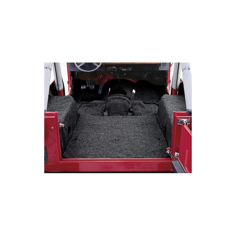 Tapis Moquette Noir Jeep Cj 76 86