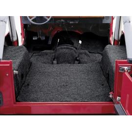 Tapis moquette noir Jeep Wrangler TJ 96-06