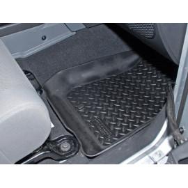 Jeep Wrangler JK tapis de sol en caoutchouc avant noir 2/4 porte 07-