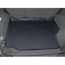 Protection de coffre en caoutchouc noir 4 portes Jeep Wrangler JK 07-10