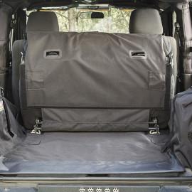 Protection de coffre avec caisson de basses Jeep Wrangler JK 07-14 à 2 portes