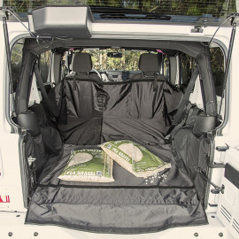 Protection de coffre sans caisson de basses Jeep Wrangler JK 07-18 4 portes