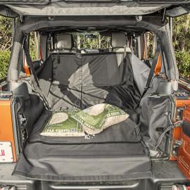 Protection de coffre avec caisson de basses Jeep Wrangler JK 07-14 à 4 portes